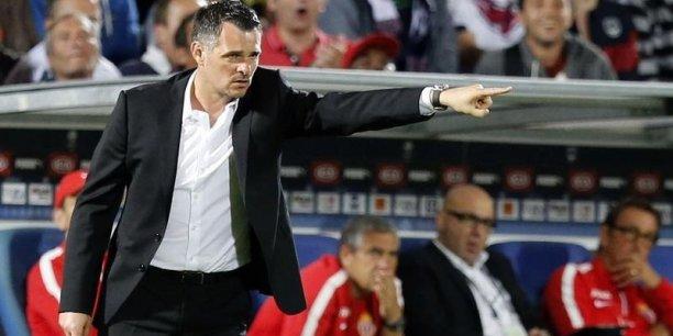 Willy Sagnol, entraîneur de Girondis de Bordeaux