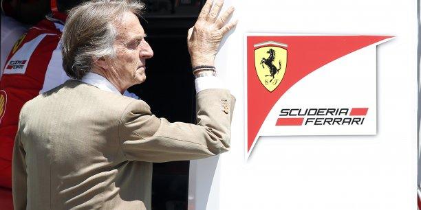 Luca Cordero di Montezemolo avait dû tirer sa révérence de la présidence de Ferrari il y a un mois, faute d'avoir pu continuer à aligner les succès en Formule 1