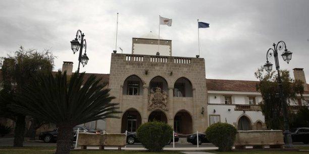 Le palais de la présidence chypriote à Nicosie.