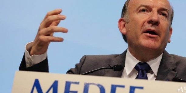 Pierre Gattaz président du Medef sera à Lyon mercredi pour ce rassemblement unitaire du patronnat