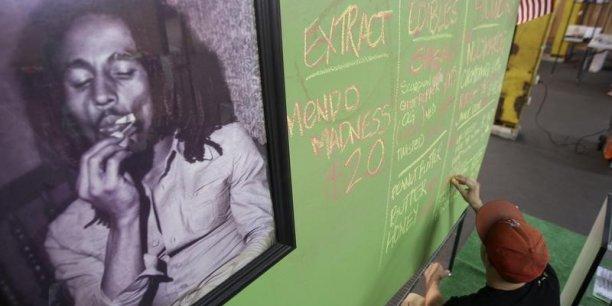 L'herbe est faite pour soigner une nation, l'herbe aide à la méditation, l'herbe donne de meilleures vibrations, explique Rohan Marley, l'un des fils de l'inventeur du reggae.