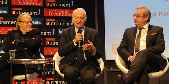 Bernard Belletante, Jean-Marie Cavada et Pascal Picq les trois intervenants de cette conférence