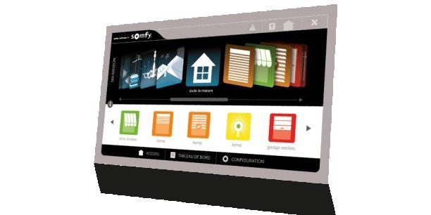 85% des utilisateurs de la domotique de Somfy utilisent une application mobile plutôt qu'un ordinateur.