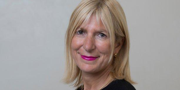 Catherine Charrier-Leflaive, DRH à la Banque Postale, des Services financiers et du réseau La Poste