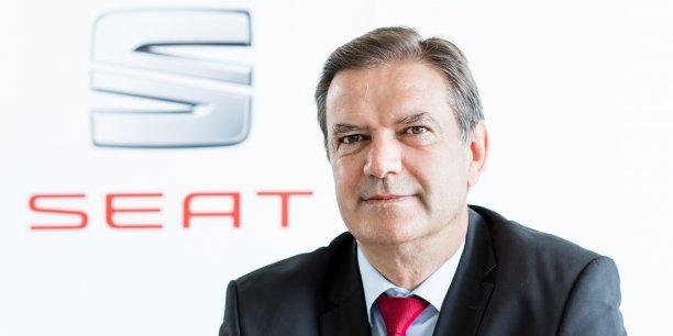 Alexandre Lacombe, directeur de Seat France, affiche sa confiance sur le plan produit annoncé par la marque espagnole pour les trois années à venir.