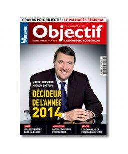 Une du Numéro d'Objectif Languedoc-Roussillon - Décembre 2014