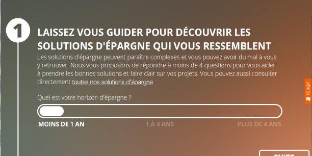 Exemple de service offert par le site Internet et mobile du Crédit agricole Aquitaine