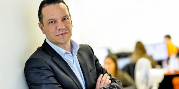 Julien Parrou, PDG de Groupe ConcoursMania et cofondateur de l'accélérateur de startups Héméra à Bordeaux