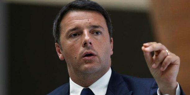 « Nous avons tout ce qu'il faut pour mettre les choses en marche et convaincre les citoyens de croire au projet européen, un projet construit sur des bases culturelles et scientifiques solides », estime le Premier ministre italien.