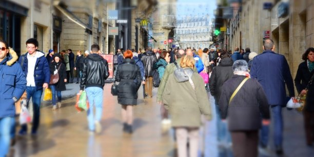 En Aquitaine, les effectifs sont notamment en hausse dans le commerce (+ 30,6 %).