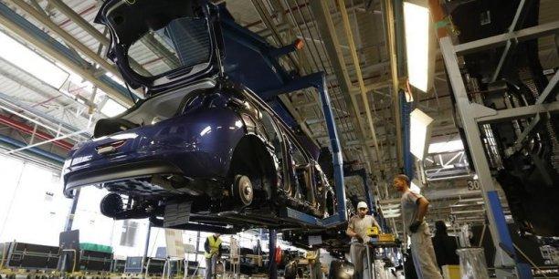 Le secteur automobile retrouve des couleurs