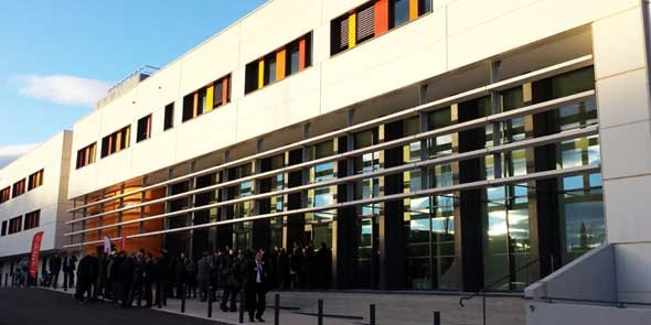 Le nouveau Centre de recherche en sciences et technologies de l'information de Montpellier
