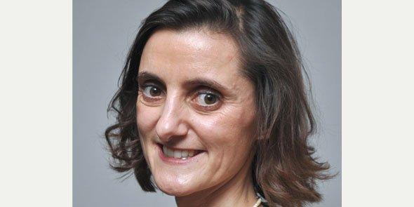 Aude Béziat, élue pour deux ans à la présidence de la CRCC de Nîmes.