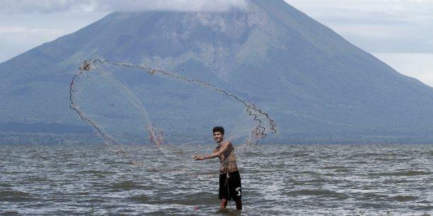 Le tracé du canal traverse le lac de Cocibolca, la plus grande étendue d'eau douce d'Amérique latine.