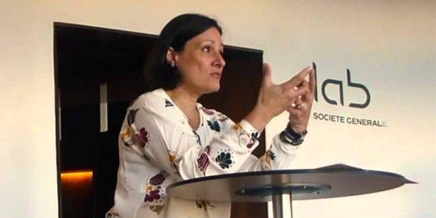 Françoise Mercadal-Delasalles, directrice des ressources et de l'innovation, Société générale.