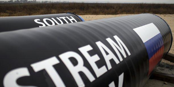 Le gazoduc South Stream, censé assurer la sécurité énergétique de l'Union Européenne grâce à des livraisons de gaz russe.