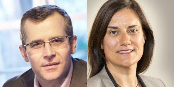 VIncent Champain, président de l'Observatoire du Long Terme et Isabelle Mas, vice-Présidente de CLAI