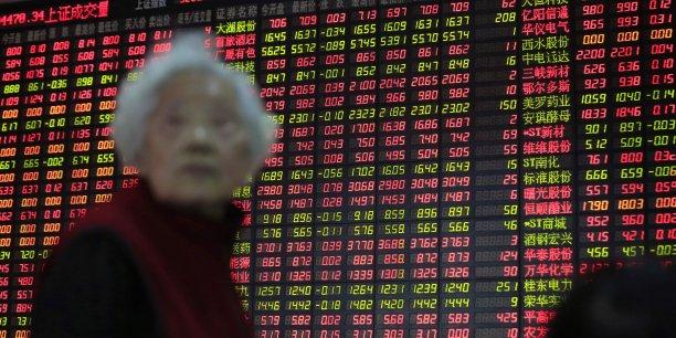 La Bourse de Shanghai est en fort recul depuis trois semaines.