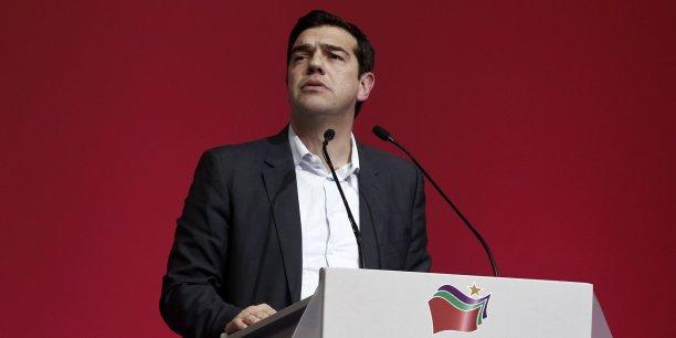 Alexis Tsipras a affirmé samedi qu'il est attaché à l'équilibre budgétaire et qu'il veut demeurer dans la zone euro, ce qui suppose de respecter les critères de Maastricht.