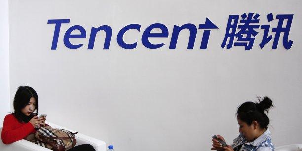 Tencent est déjà aux commandes de la très populaire application de messagerie WeChat.