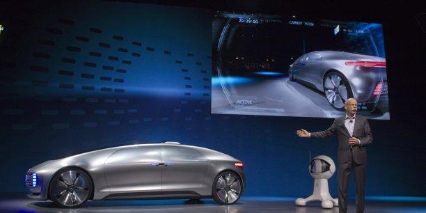 Mercedes a dévoilé une voiture autonome futuriste pour le CES 2015