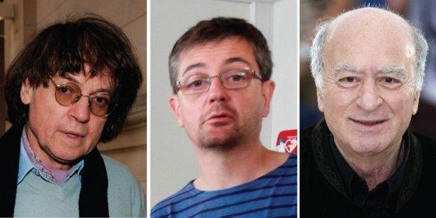 Cabu, Charb, Wolinski.