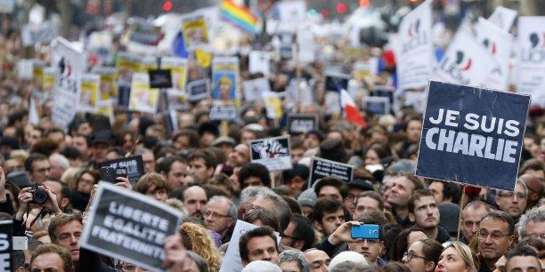 La presse étrangère était au rendez-vous pour le rassemblement du dimanche 11 janvier.