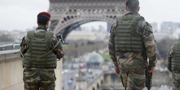 Le ministère de la Défense mobilise depuis le 7 janvier 10.500 militaires dans le cadre de Vigipirate alerte attentat