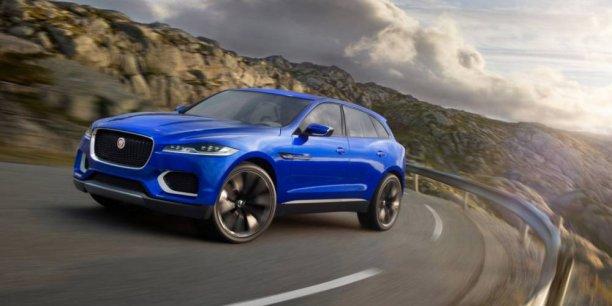 Le Jaguar F-Pace sera commercialisé en 2016. C'est le premier crossover de la marque britannique qui espère ainsi étendre son catalogue en plein boom en Europe.