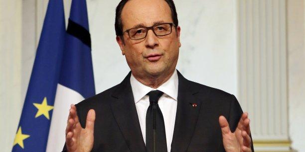 L'investissement repart, a déclaré François Hollande