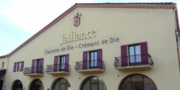 Le siège de la coopérative Jaillance se situe à Die, dans la Drôme.