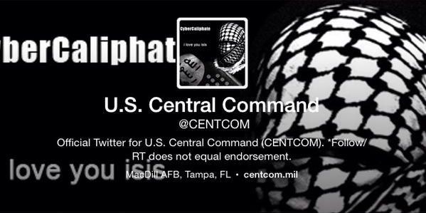 L'EI est déjà là, nous sommes dans vos PC, dans chaque base militaire américaine, ont notamment écrit les pirates.