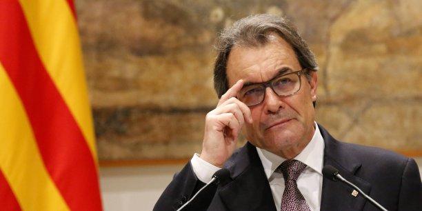 La question du maintien d'Artur Mas à la présidence de la Generalitat catalane devient délicate.
