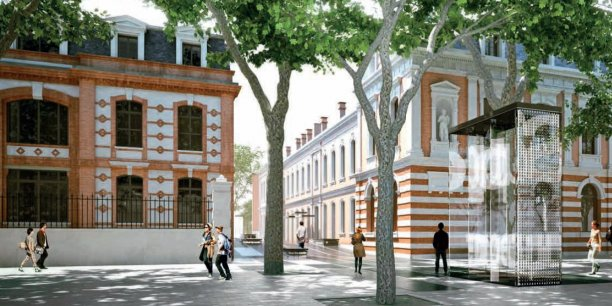 Les locaux de l'Université fédérale de Toulouse.