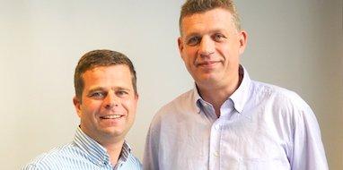 Guirec Tiberghien et Franck Ibled, co-fondateurs de Clic2buy