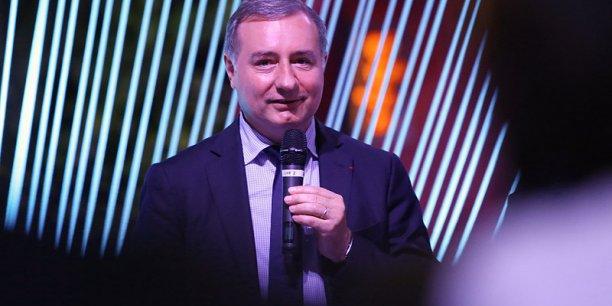 Jean-Luc Moudenc lundi 8 septembre à la Cité de l'espace
