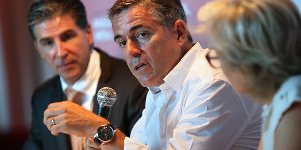 Jacques Tranier, directeur général de Vinovalie. © photo Rémi Benoit