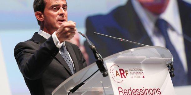 Manuel Valls présentera en détail son projet de réforme territoriale le 28 octobre au Sénat.