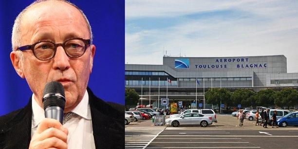 Jean-Louis Chauzy s'inquiète de l'envolée des prix du foncier qui entoure l'aéroport. © photo Rémi Benoit