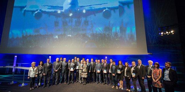 L'édition 2013 des Trophées de l'Aéronautique a récompensé des chefs d'entreprise de Midi-Pyrénées. Cette année la sélection est nationale.© Photo Rémi Benoit