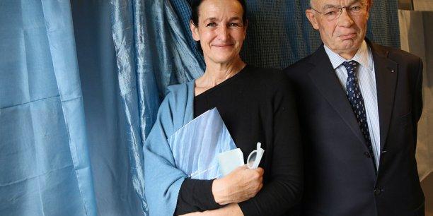 Sandrine Banessy et Jean-Jacques Germain.
