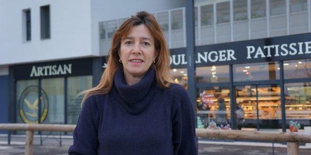 Nadia Nuffer, responsable de la commercialisation pour la foncière Borderouge