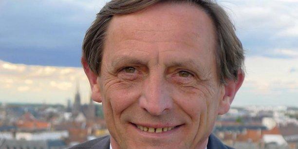 Robert Hermann, président (PS) de l'Eurométropole de Strasbourg