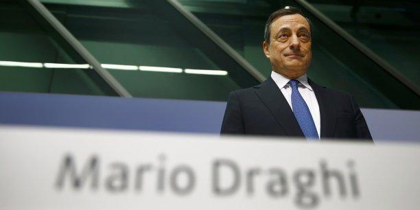 Mario Draghi a sorti le bazooka.
