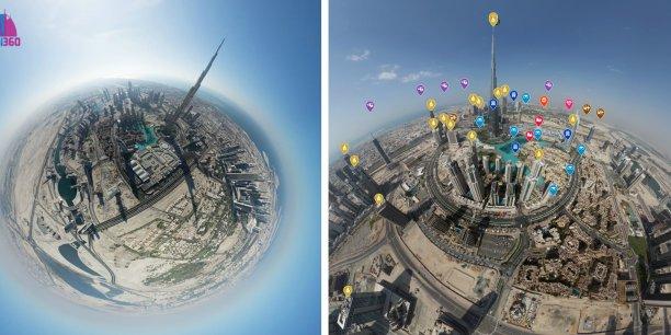 18 mois de développement et 1298 vidéos et photographies panoramiques ont été nécessaires pour créer Dubai 360.