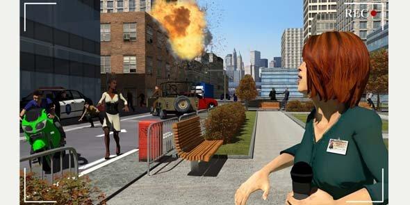 Image extraite d'une reconstitution, réalisée à partir d'Easy Sim 3D