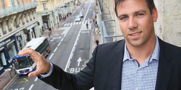 David Larcher, cofondateur de Coovia