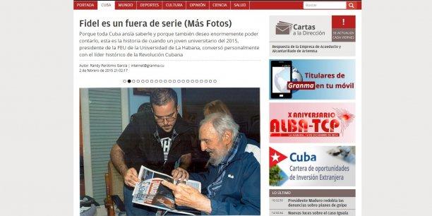 Un théologien brésilien qui a rencontré Fidel Castro la semaine dernière a rapporté que l'ancien dirigeant lui avait semblé en bonne santé pour son âgé, amaigri mais lucide.