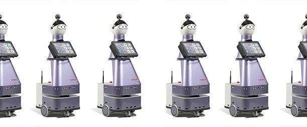Le robot Kompaï de la startup Robosoft est spécialisé dans l'accompagnement des personnes dépendantes.