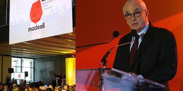 Martin Malvy a présenté à 800 personnes la nouvelle agence Madeeli